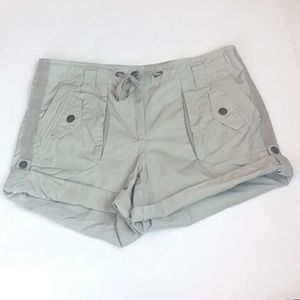 J.crew City Fit Beige Cargo Shorts Size 6